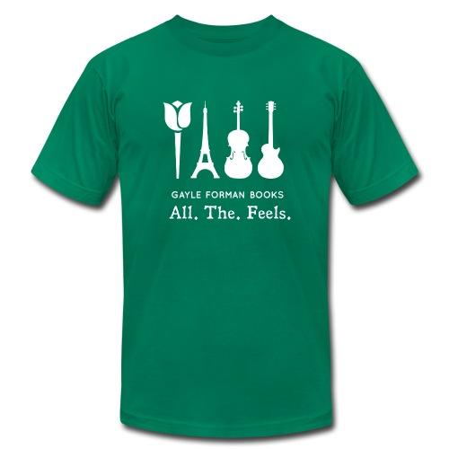 Mia, Adam, Allyson, Willem - Men's Fine Jersey T-Shirt
