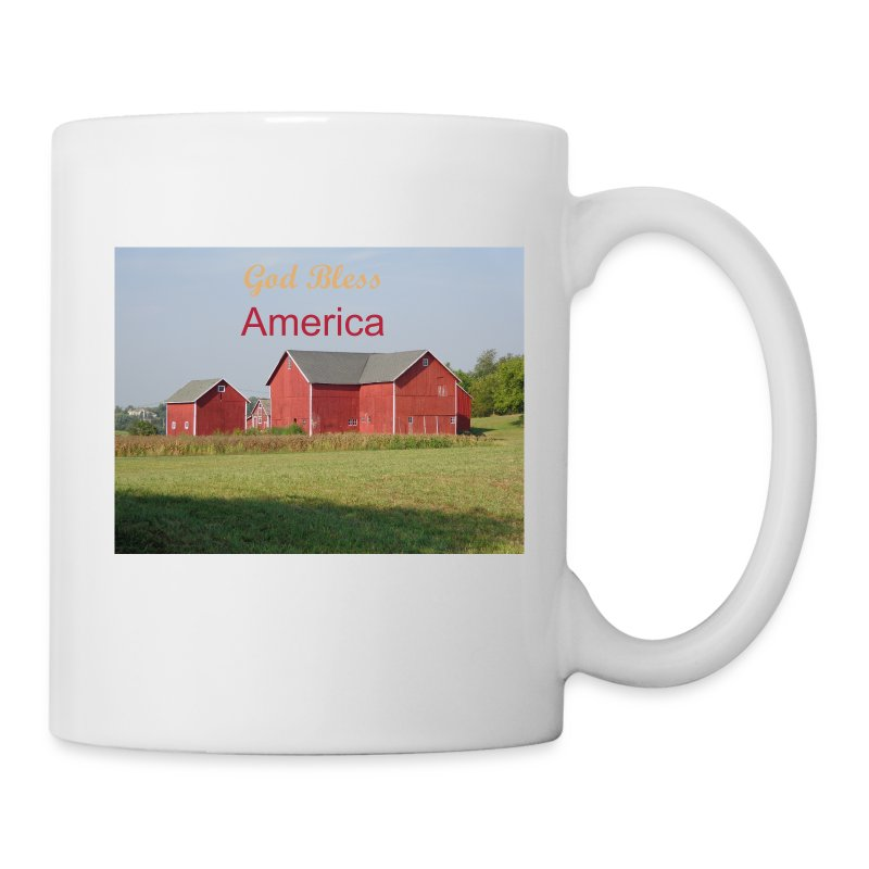 'God Bless America' coffee cup - Coffee/Tea Mug