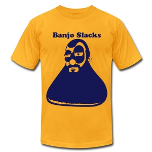 Banjo Slacks (Momma Flex Style) - Men's T-Shirt by American Apparel