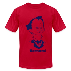 Barnum!  (Flock Edition) - Men's T-Shirt by American Apparel