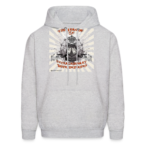 The League of Extraordinary Beer Drinkers Crest  Hooded Sweatshirt - Men's Hoodie