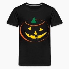 Halloween Pumpkin 3 color vector Kids' Shirts