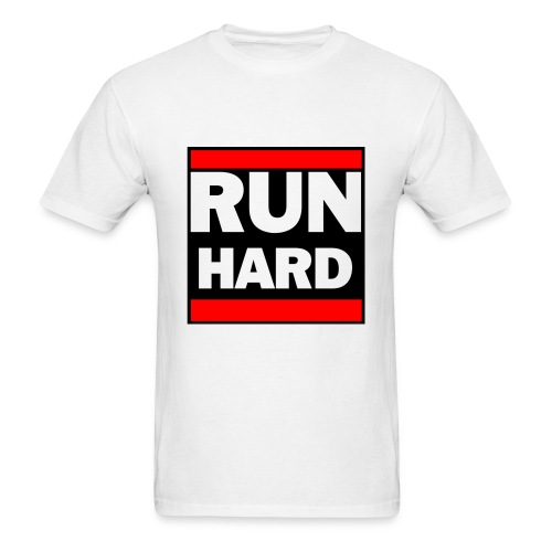 Run Hard Run DMC - Men's T-Shirt