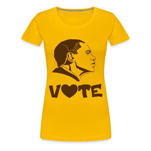 Iota Sweet Vote Obama - Women's Premium T-Shirt