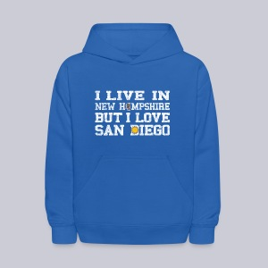 Live New Hampshire Love San Diego - Kids' Hoodie