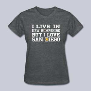 Live New Hampshire Love San Diego - Women's T-Shirt