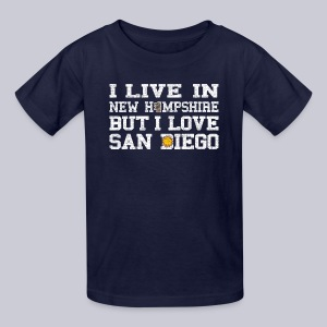 Live New Hampshire Love San Diego - Kids' T-Shirt
