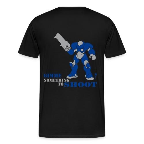 Starcraft Terran Marine Tee - Men's Premium T-Shirt