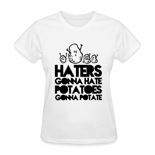Hate and Potate(F) - Women's T-Shirt