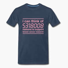 Boobies Calculator Support Breast Cancer T-Shirts