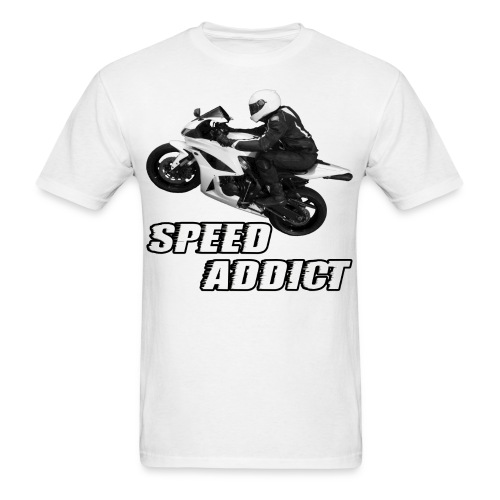 CycleCruza's Sport Bike Speed Addict T-Shirt - All Colors! - Men's T-Shirt