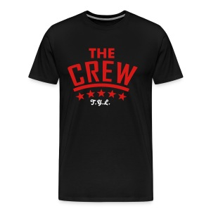 The Crew Tee in Black - Men's Premium T-Shirt