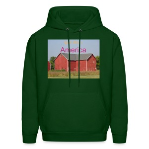 'God Bless America' Men's Hooded sweatshirt - Men's Hoodie