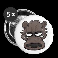 Buttons ~ Large Buttons ~ Shower Bear Button!