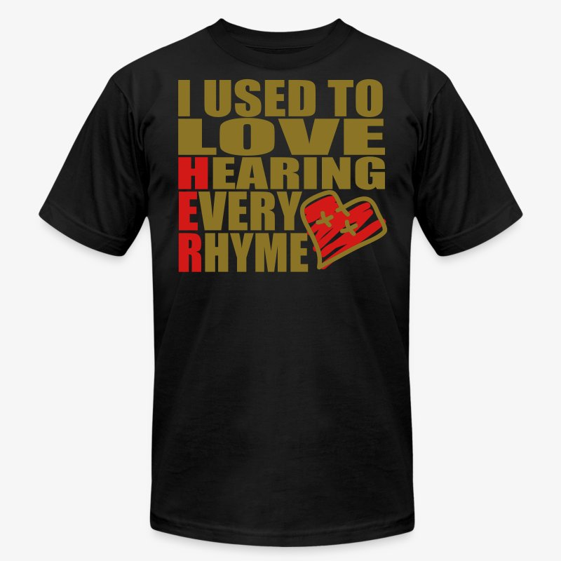 I use to love H.E.R.  001 - Men's Fine Jersey T-Shirt