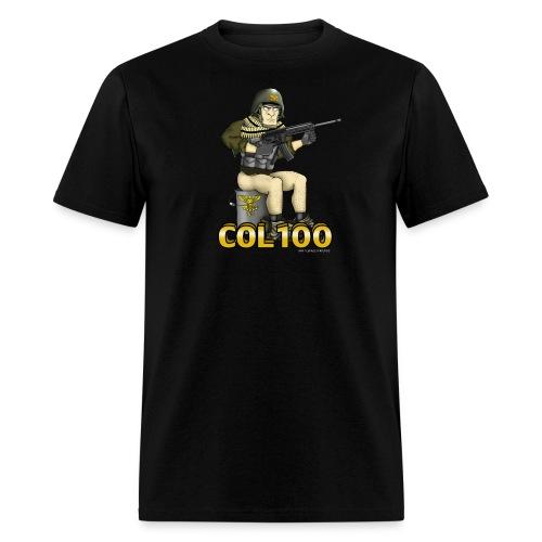 Col 100 S Bucket - Men's T-Shirt
