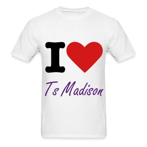 I love ts madison - Men's T-Shirt