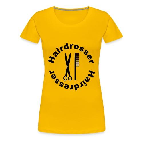 Hairdresser - Women's Premium T-Shirt