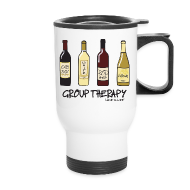Mugs & Drinkware ~ Travel Mug ~ Group Therapy - Travel Mug