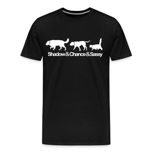 Homeward Bound - White Print - Men's Premium T-Shirt