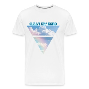 Clear My Mind  - Men's Premium T-Shirt