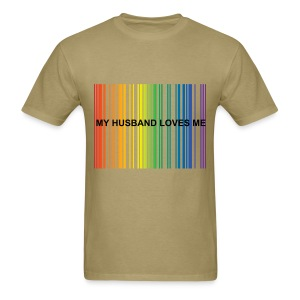 My Husband Loves Me Couple's Tee - Men's T-Shirt