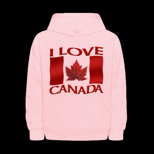 I Love Canada Kids' Hoodie Souvenir Sweatshirts - Kids' Hoodie