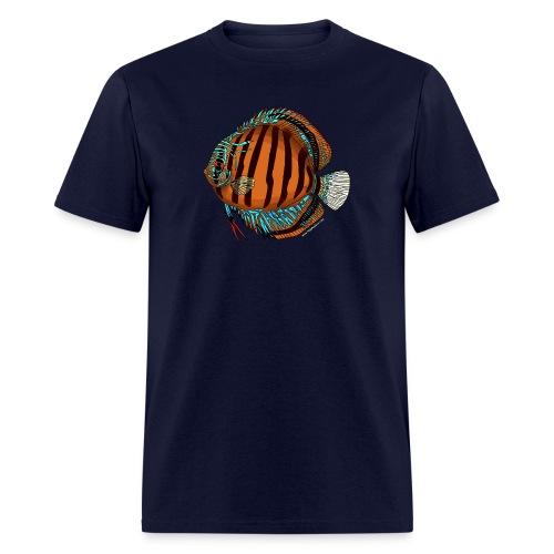 Brown Discus - Men's T-Shirt