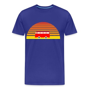 Surfing sunset - Men's Premium T-Shirt