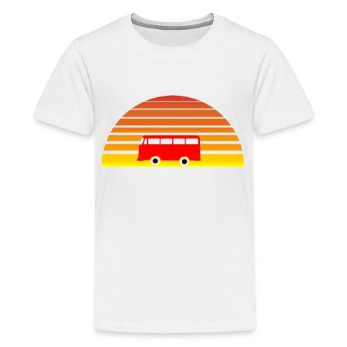 Surfing sunset - Kids' Premium T-Shirt