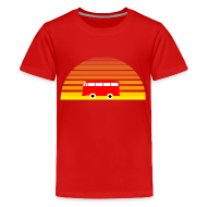 Kids' Shirts ~ Kids' Premium T-Shirt ~ Surfing sunset