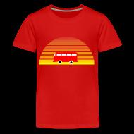 Kids' Shirts ~ Kids' Premium T-Shirt ~ Surfing sunset