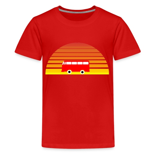 Surfing sunset - Kids' Premium T-Shirt
