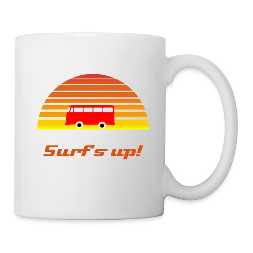 Surfing sunset - Coffee/Tea Mug