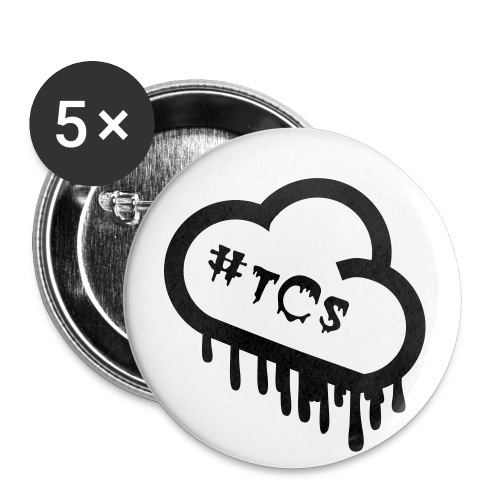 #tCs buttons - Buttons large 2.2'' (5-pack)