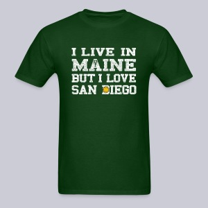 Live Maine Love San Diego - Men's T-Shirt