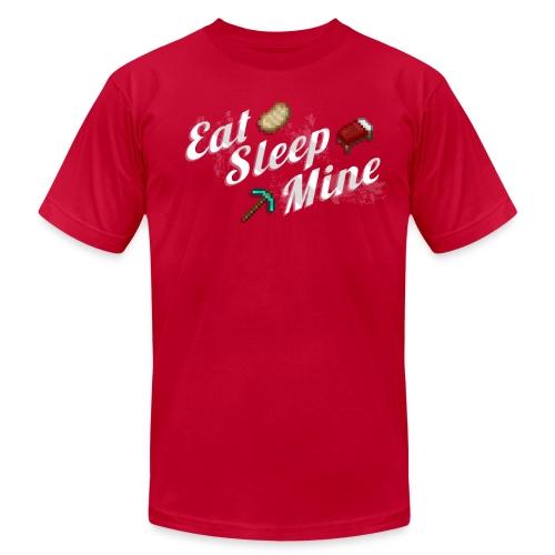 Eat Sleep Mine - Men's Fine Jersey T-Shirt