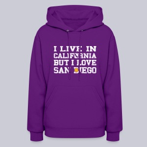 Live California Love San Diego - Women's Hoodie