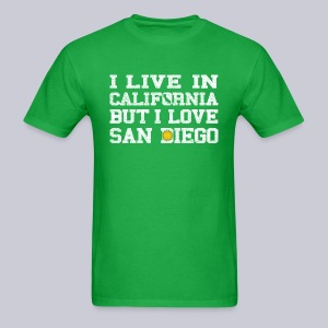 Live California Love San Diego - Men's T-Shirt