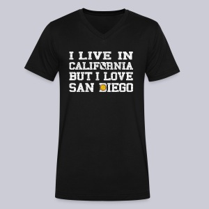 Live California Love San Diego - Men's V-Neck T-Shirt by Canvas