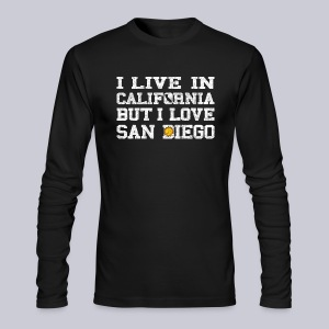 Live California Love San Diego - Men's Long Sleeve T-Shirt by Next Level