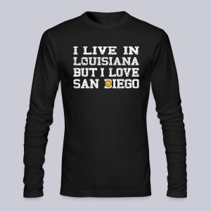 Live Louisiana Love San Diego - Men's Long Sleeve T-Shirt by Next Level