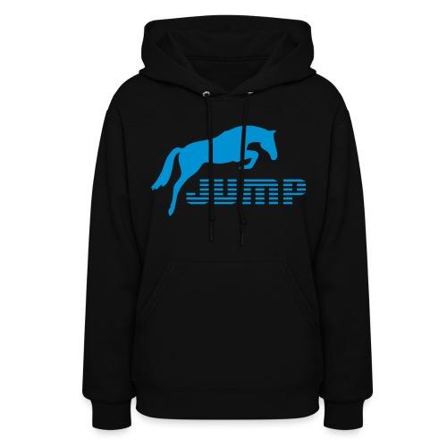 Jump Hoodie Blue - Women's Hoodie