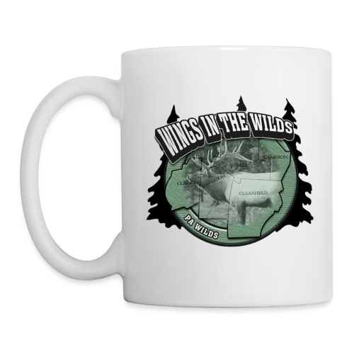 Coffee/Tea Mug Wings in Wild one side - Coffee/Tea Mug