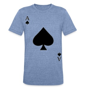 Ace of Spades. - Unisex Tri-Blend T-Shirt by American Apparel
