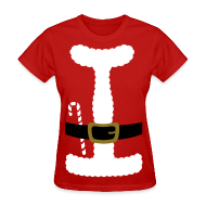 T-Shirts ~ Women's T-Shirt ~ SANTA CLAUS SUIT - Women's T-Shirt