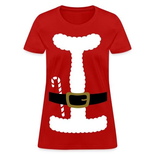 SANTA CLAUS SUIT - Women's T-Shirt - Women's T-Shirt