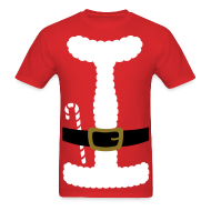 T-Shirts ~ Men's T-Shirt ~ SANTA CLAUS SUIT - Men's T-Shirt