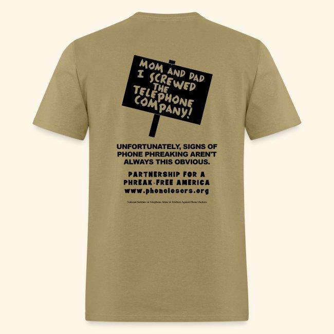Mom & Dad - Light Colored Shirt (standard)