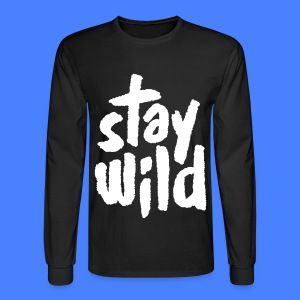 Stay Wild Long Sleeve Shirts - Men's Long Sleeve T-Shirt